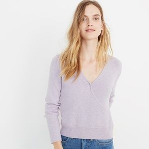 Wrap Front Pullover Sweater (NWT)